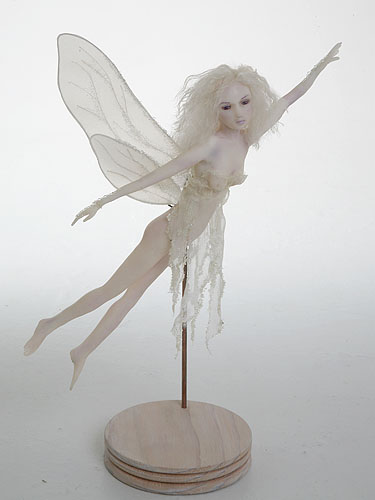Escape fairy sculpture polymer clay