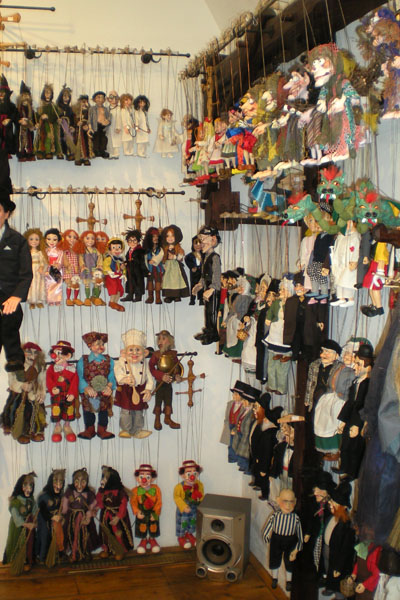 marionette shop in Prague