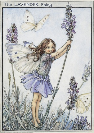 Cicely Mary Barker Lavender flower fairy